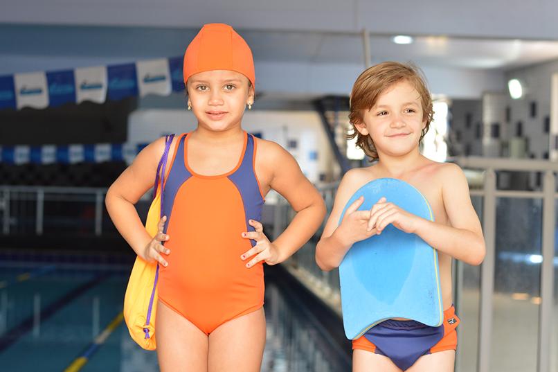 Benefícios da natação para as crianças