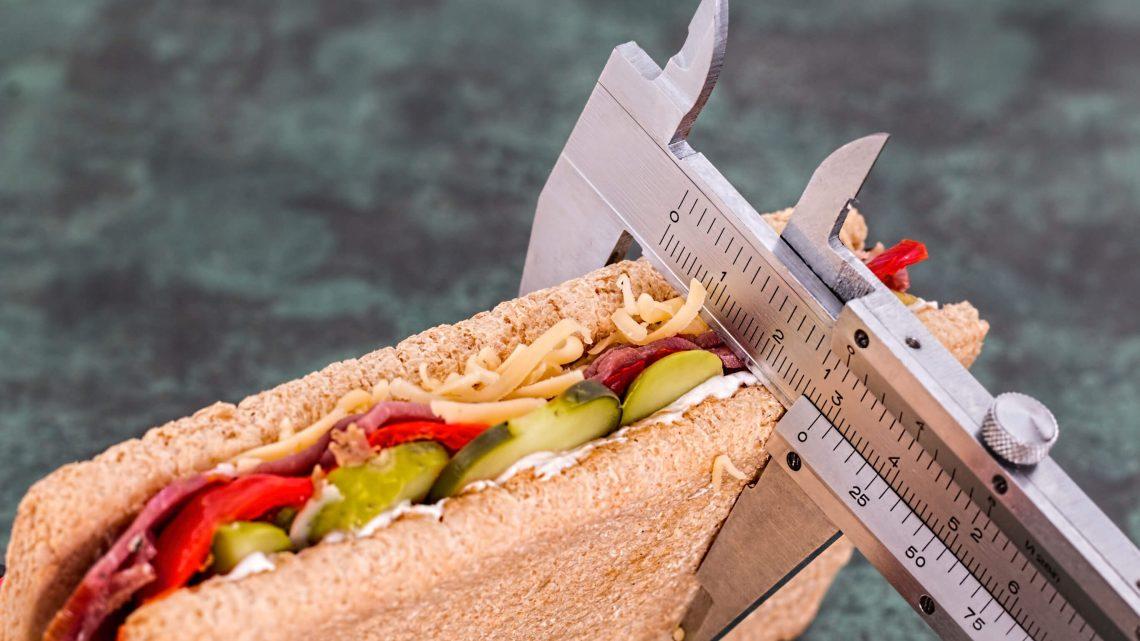 Neurose de contar calorias na dieta
